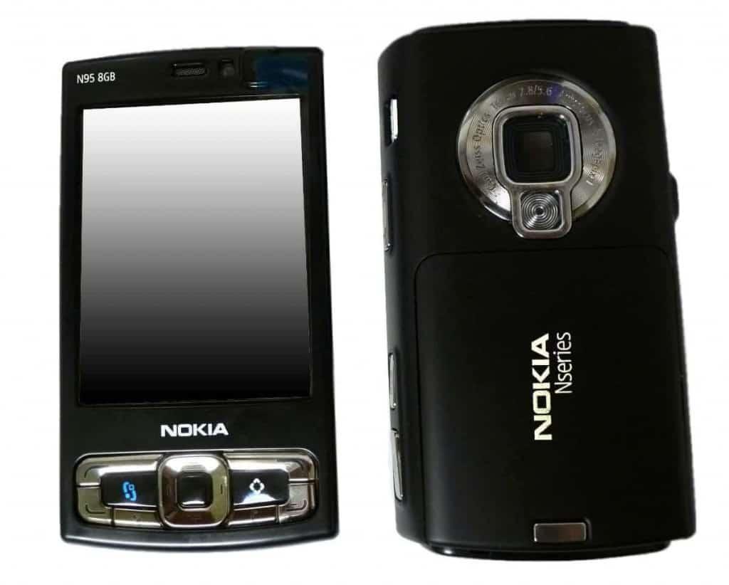 nokia n95 con cámara de 5mp