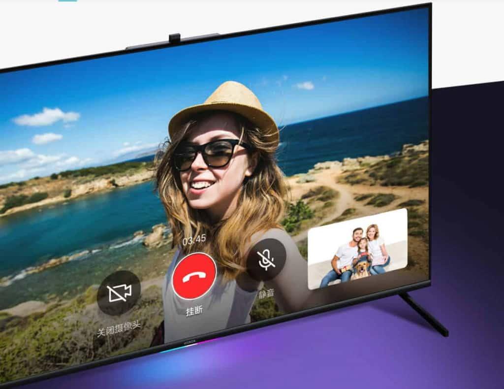 televisor Honor vision con Harmony OS