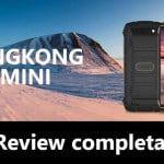 Cubot King Kong Mini - móvil resistente para los días de aventura