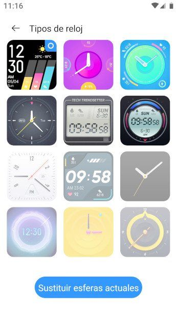 realme watch diseño