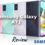 Samsung Galaxy A71 - Móvil de gama media premium con estilo