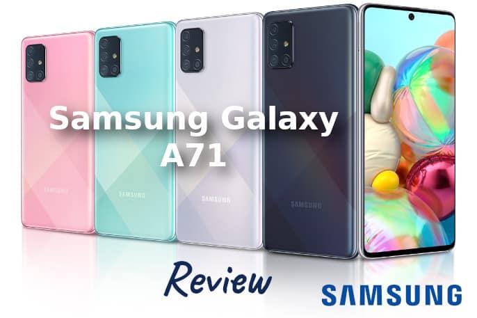 Samsung galaxy A71 opiniones
