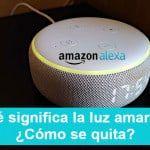 Alexa, Luz amarilla en Echo y el significado de todos los colores en el altavoz