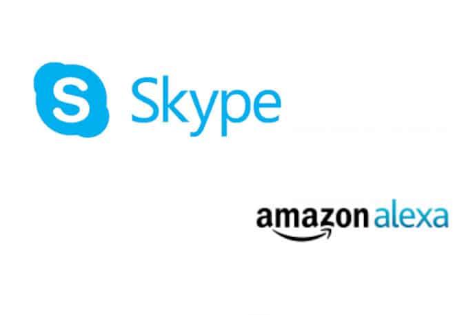 alexa y skype