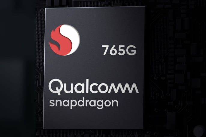 procesador qualcomm snapdragon 765