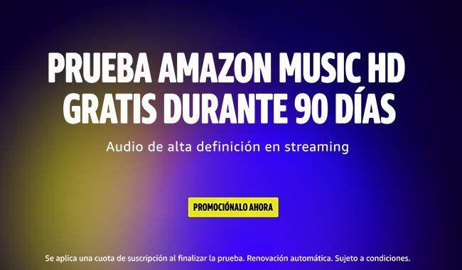 prueba gratis amazon music HD