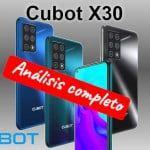 Cubot X30, con 5 cámaras y MUCHA memoria por muy poco