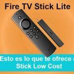Fire TV Stick Lite, la smart TV barata y funcional de Amazon