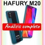 HAFURY M20 con Android 10 Go para un uso básico