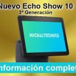 Nuevo Echo Show 10, ¡la tercera generación se mueve!