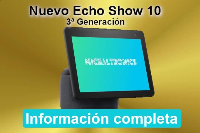 nuevo echo show 10 de tercera generación