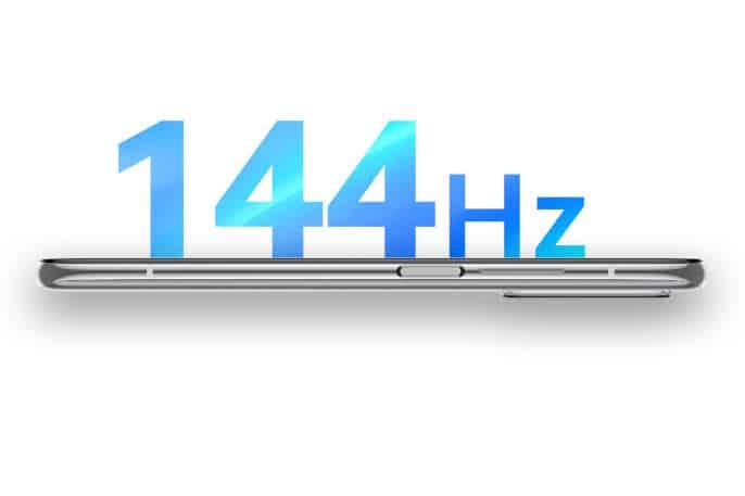 pantalla con tasa de refresco de 144Hz