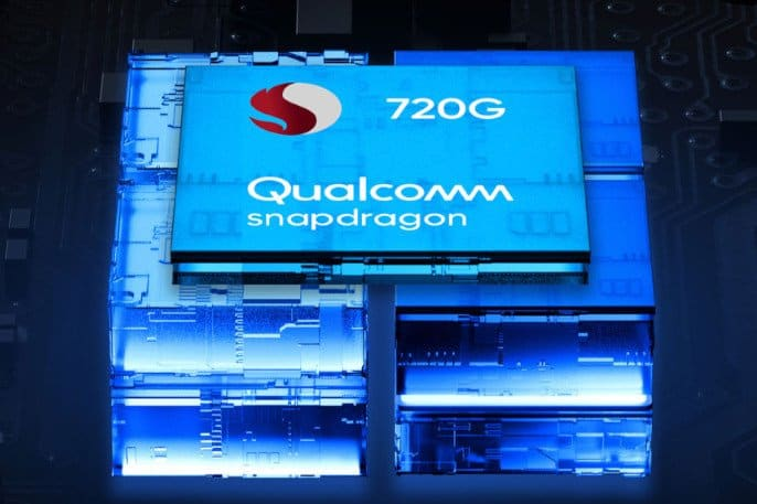 smarpthones con qualcomm snapdragon 720g