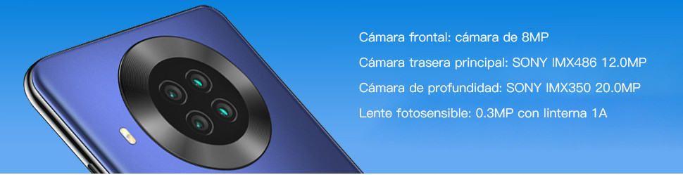 cámaras del cubot note 20 pro
