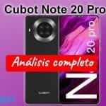 Cubot Note 20 Pro, ¡Ojo a este móvil low cost!
