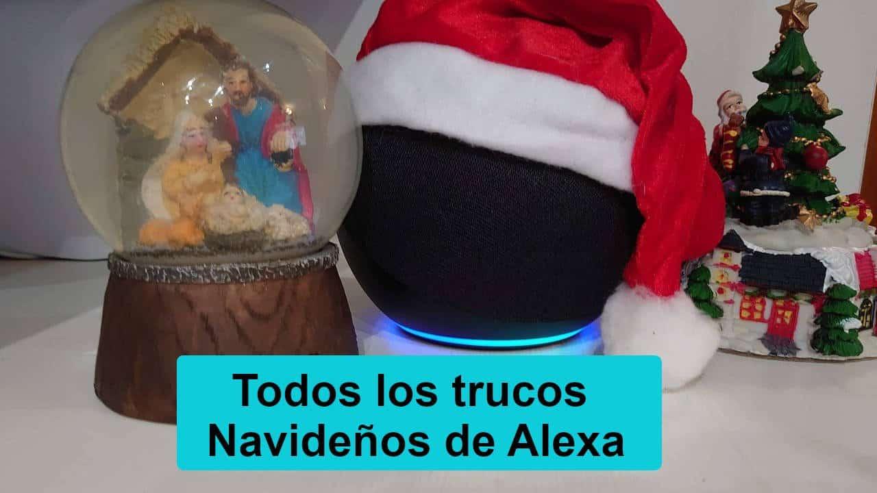 Comandos de Navidad para Alexa